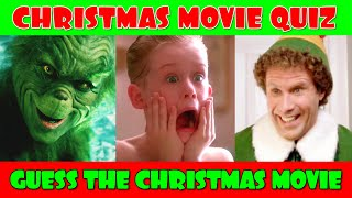 Guess The Christmas Movies Quiz