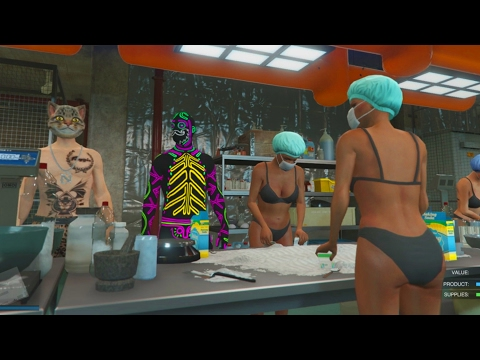 Today We Learn How To Make Cocaine! GTA 5 Biker Missions With Speedy!
