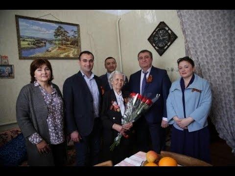 Депутаты Горсобрания и сотрудники администрации посетили ветеранов войны