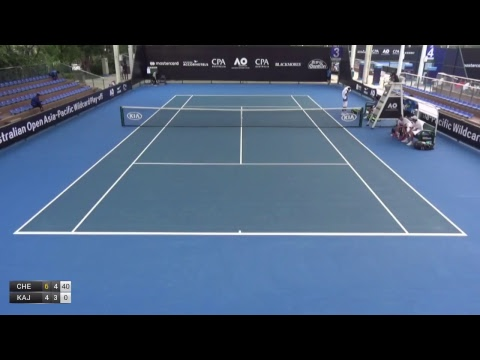 Australian Open 2018 Asia-Pacific Wildcard Play-off | Court 3 | Day 2