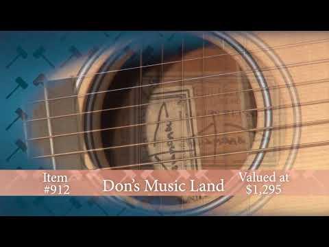 2018 Auction BB912: Don's Music Larrivee Guita