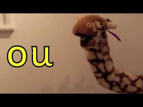Download Geraldine the Giraffe learns /ou/ as the /u/ sound