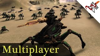 Supreme Commander Forged Alliance - 1vs1 Kirin vs SergiuHellDragoonHQ Multiplayer Gameplay