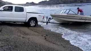 Boat Launch At San Carlos Sonora Mexico
