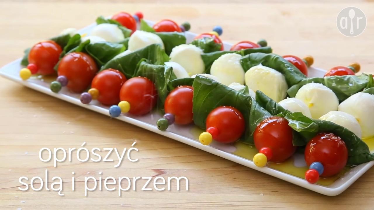 Koreczki caprese – Allrecipes.pl