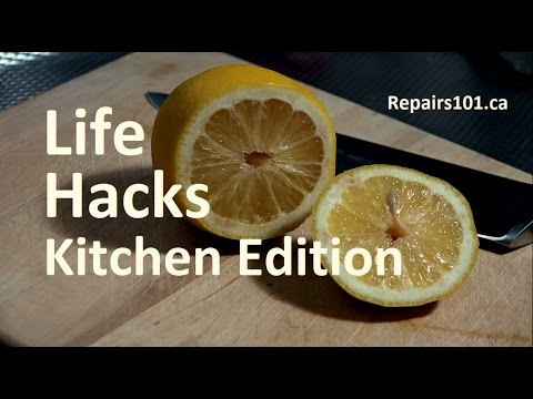 Life hacks kitchen edition top 10 youtube for 9 kitchen life hacks