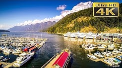 4K Horseshoe Bay West Vancouver British Columbia Canada