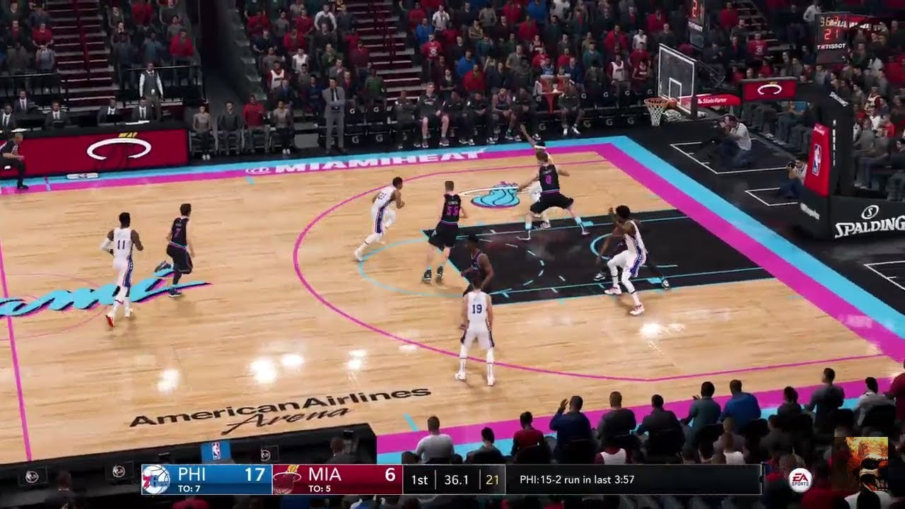 NBA LIVE 19 76ers vs Heat LIVE STREAM ...