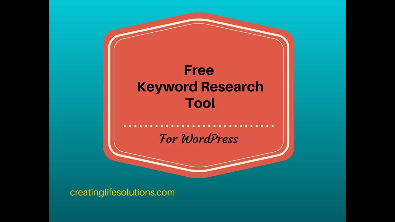 how to add keywords on wordpress