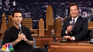 Wheel of Musical Impressions with Adam Levine(, 2014-09-03T04:09:32.000Z)