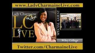 WILEY COLLEGE DEBATE TEAM Talks THE GREAT DEBATE & MORE on Lady Charmaine Live