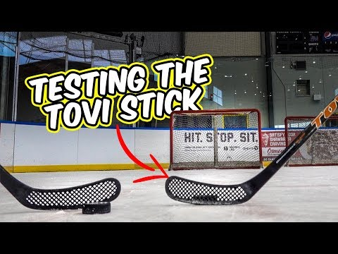 Testing the Holy Hockey Stick - Tovi stick review