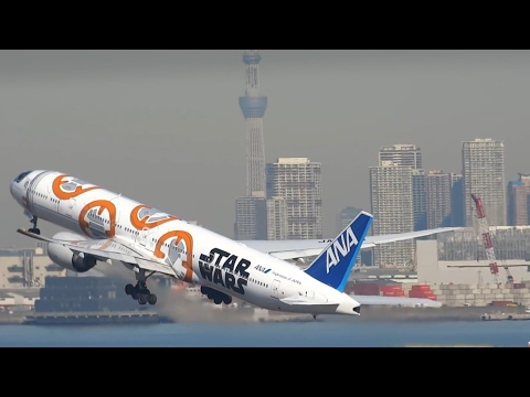 PLANE SPOTTING at Tokyo Haneda Airport 2017