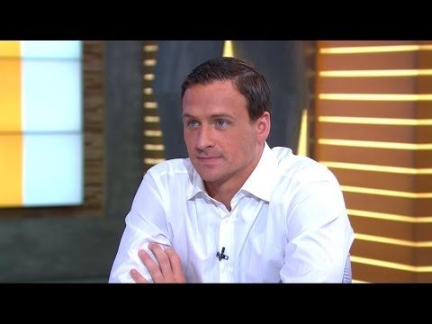 Ryan Lochte Interview on Alleged Rio Robbery