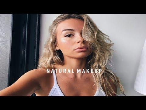 NATURAL MAKE UP FOR THE POOL OR BEACH + VLOG | allegralouise