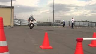 Экзамен в ГАИ на скутере