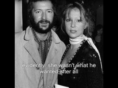 Pattie Boyd and Eric C...