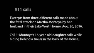 Audio: 911 calls from fatal domestic attack on Lake Worth woman