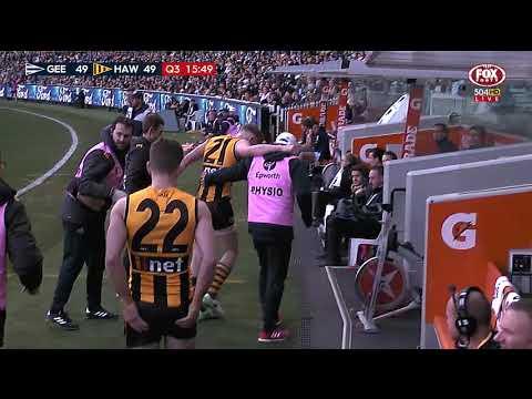 Round 17 AFL - Geelong v Hawthorn Highlights