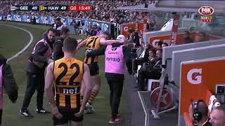 Round 17 AFL - Geelong v Hawthorn Highlights