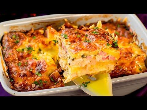 extrêmement-simple,-mais-très-savoureuse-–-moussaka-aux-pommes-de-terre-et-au-poulet-!-│savoureux.tv