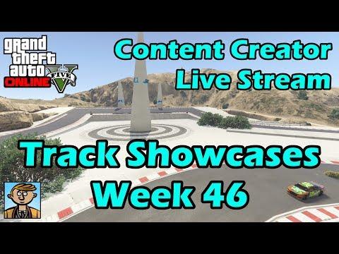 GTA Race Track Showcases (Week 46) [XB1] - GTA Content Creator Live Stream