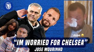 JOSE MOURINHO WORRIED ABOUT CHELSEA! JODY MORRIS LAUGHS😂 || SOPHIE & LEWIS REACT || BLUES TV