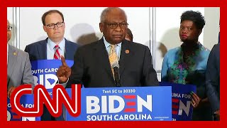 Rep. Clyburn unveils key South Carolina endorsement