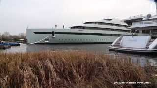 Feadship superyacht launch