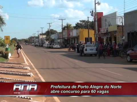 Prefeitura de Porto Alegre do Norte abre concurso para 60 vagas