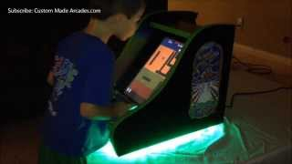Galaga Bartop Custom Made Arcade 60 In 1 Jamma Icade Mini Tabletop By Custom Made Arcades