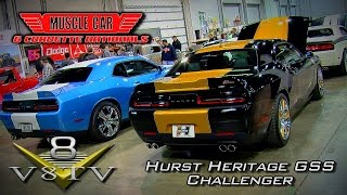 Mr. Norm's Teams With Hurst Performance Making New Hurst Dodge Hellcats MCACN 2015 Video V8TV