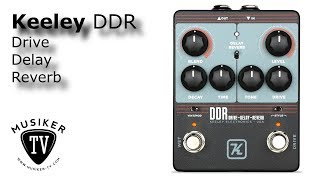 Keeley DDR - Drive Delay Reverb - Review
