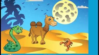Развивающие мультфильмы. Учимся и играем. Животные пустыни.