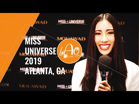 Miss Universe 2019 Pageant Interview Highlights - Laos