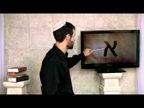Biblical Hebrew Lesson 2 | How every Hebrew letter points to Yeshua the Messiah! | Aleph