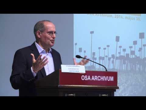 Miklós Haraszti, professor, author, UN Special Rapporteur @INCLO 2014.05.30