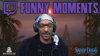 Snoop Dogg Funniest Twitch Stream Moments
