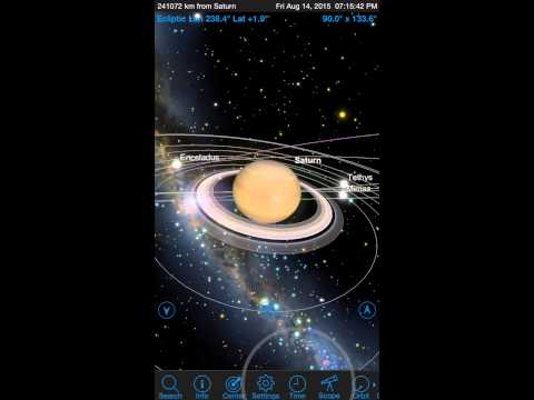 SkySafari 4 Pro: The Planet's Most Powerful Astronomy App -  iPhone6Plus (IOS Preview)