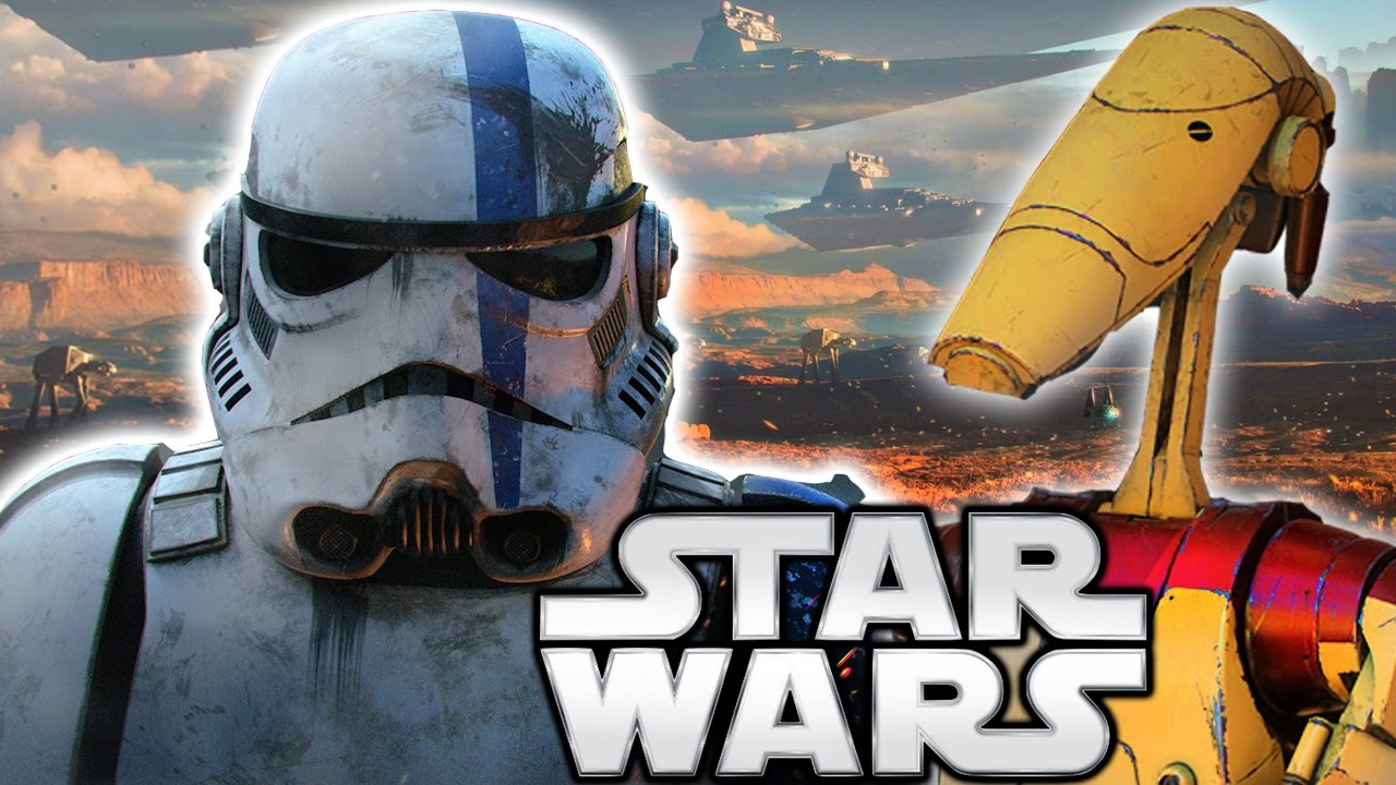 Why Did The Empire Use Stormtroopers Instead of Droids? Star Wars Explained