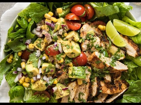 Mexican Chicken and Avocado Salad