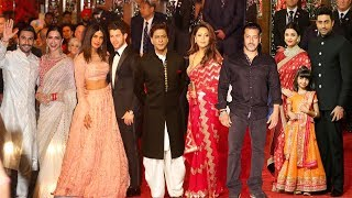Bollywood Celebs At Isha Ambani & Anand Wedding FULL HD Video | Salman,Shahrukh,Priyanka,Ranveer