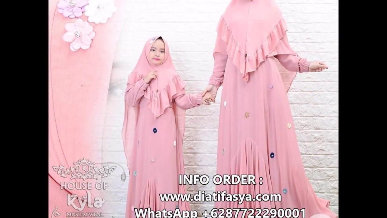 Hijab Syari Set Gamis Ibu Anak Perempuan Youtube