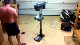 Drill Press Time-lapse