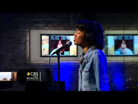 """Alice Smith performs on """"CBS This Morning: Saturday."""""""