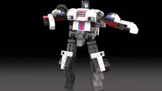 Kre-O Transformers Jazz Digital Build