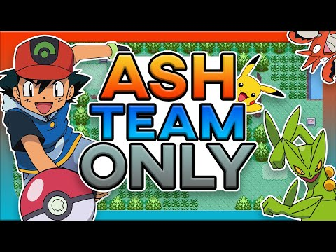 Can You Beat Pokemon Emerald Theta Ex With Ash's Team ?! (no Items Rom Hack)