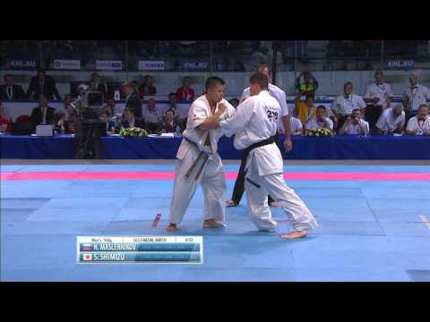 II KWU WC Final m-95kg. Maslennikov Nikolai (Russia) vs. Shoki Shimizu (Japan)