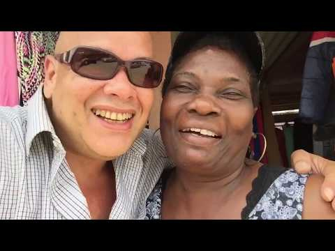 Adventure  in Suriname episode 3 - Kwatta Markt 2017