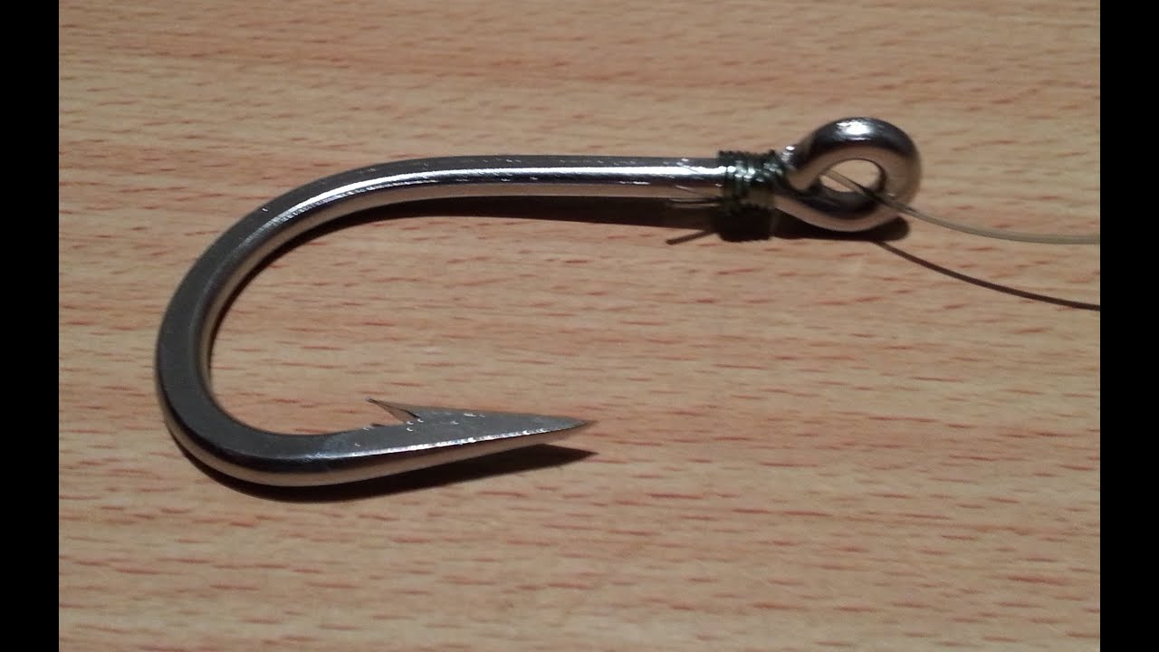 5 snell fishing knot how to snell a hook how to fish for How to make a fishing hook